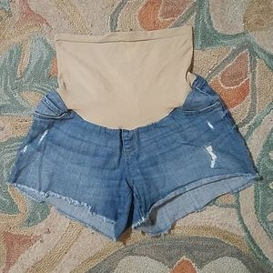 NWOT Oh Baby by Motherhood size L shorts